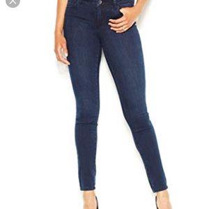 Rachel Roy denim jeans skinny mid-rise size 25